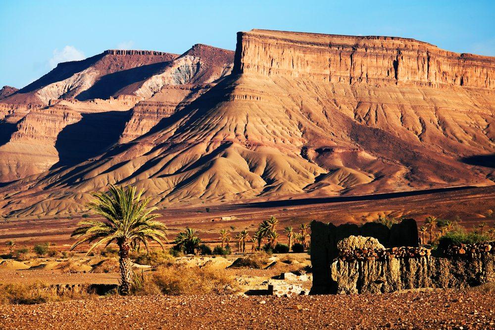V Maroku nejsou jen pouště, ale i hory a kaňony