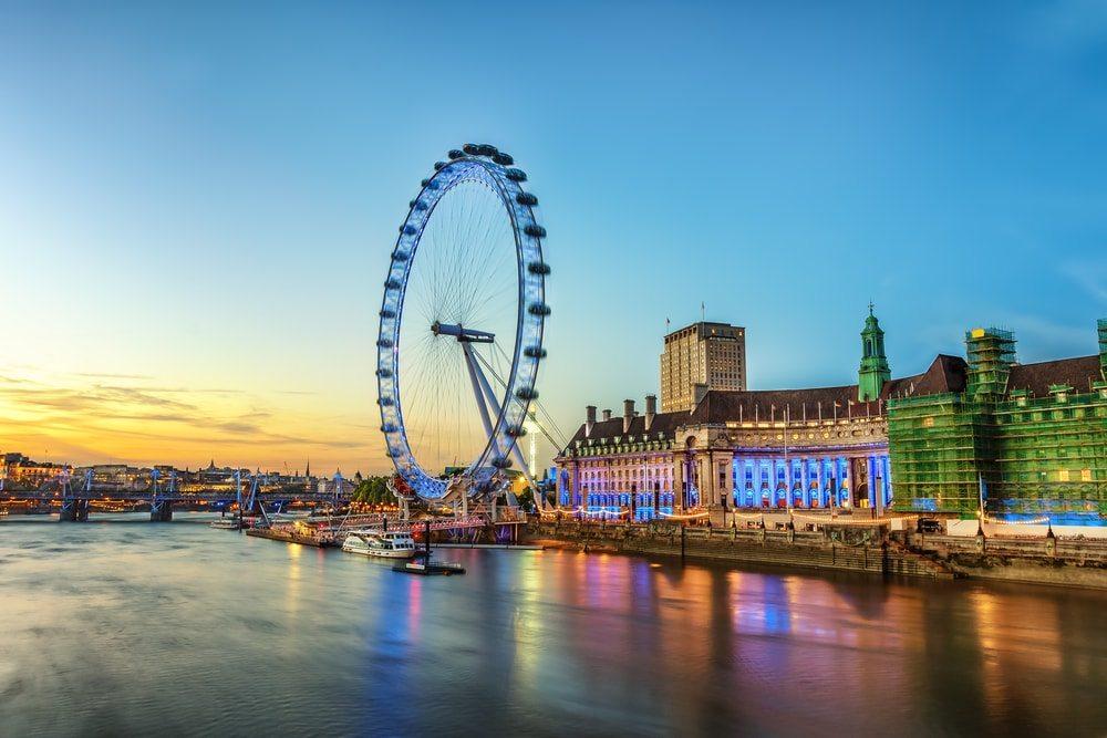 Z Londýnského Oka je parádní výhled na Londýn