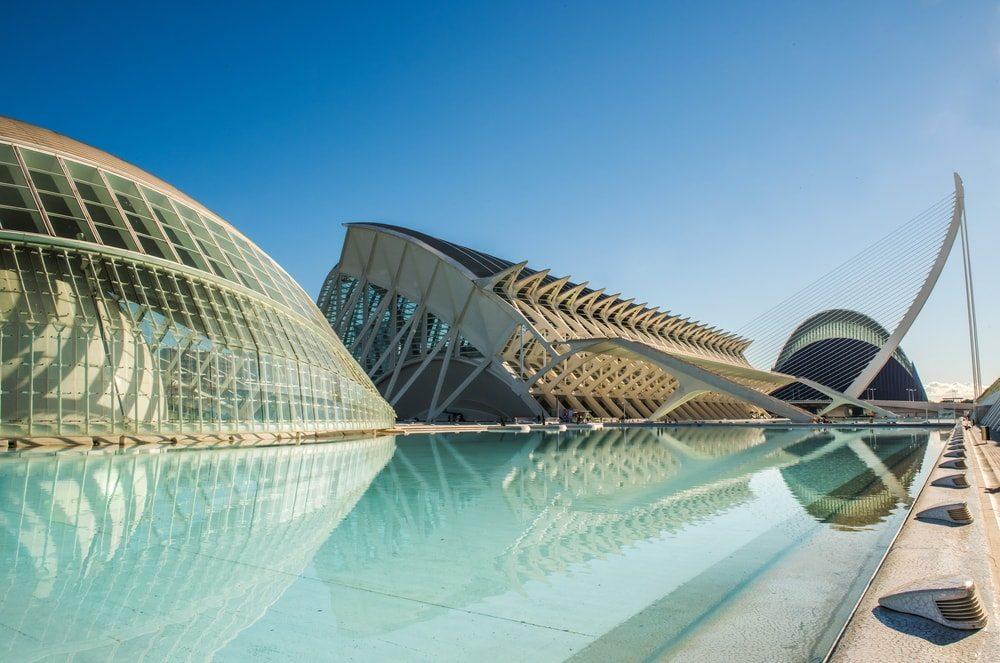Moderní architektura ve Valencii
