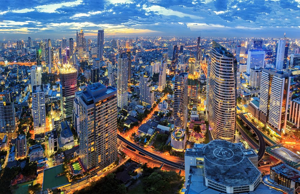 Mrakodrapy v Bangkoku