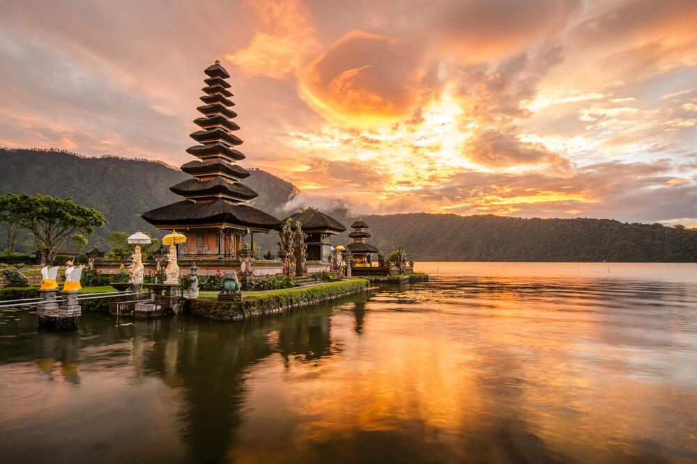 Chrám na Bali