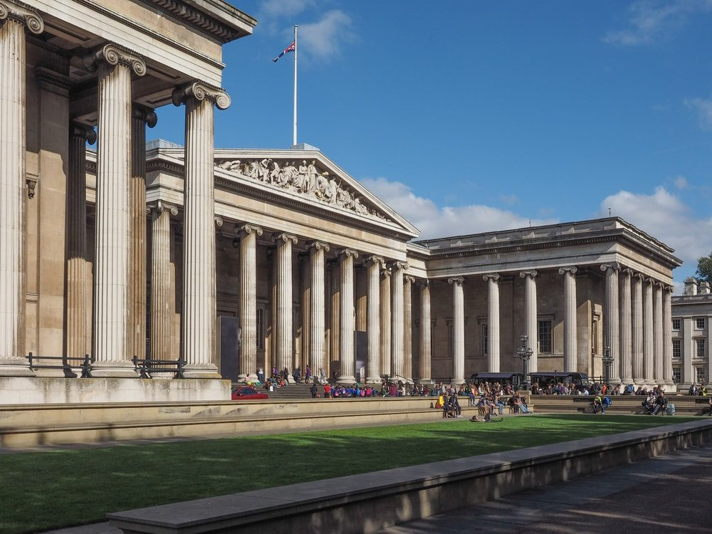 Britské muzeum v Londýně je obrovské