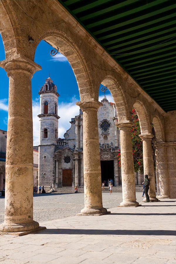 Katedrála v Havaně, Kuba