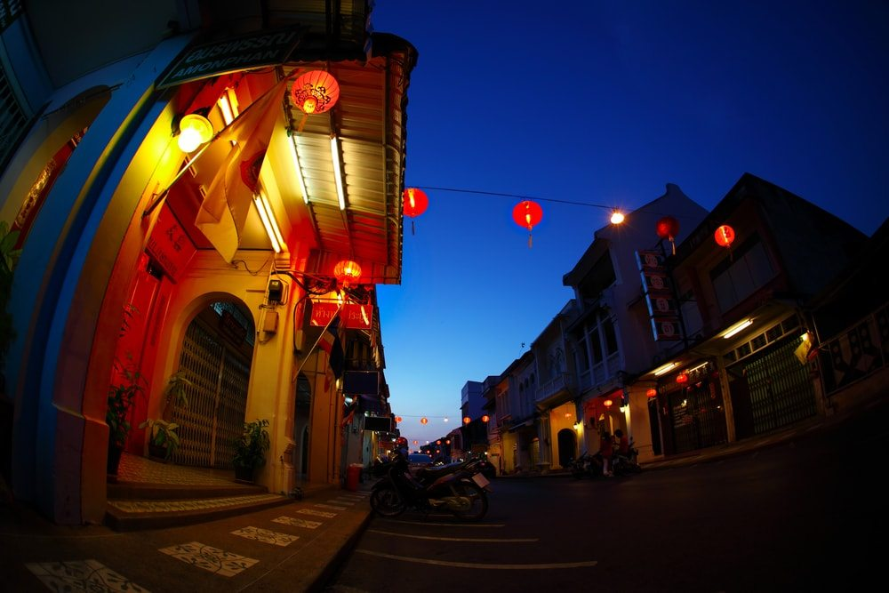 Staré město Phuketu