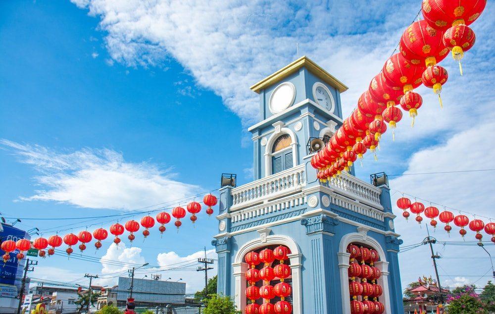 Stará část města Phuket