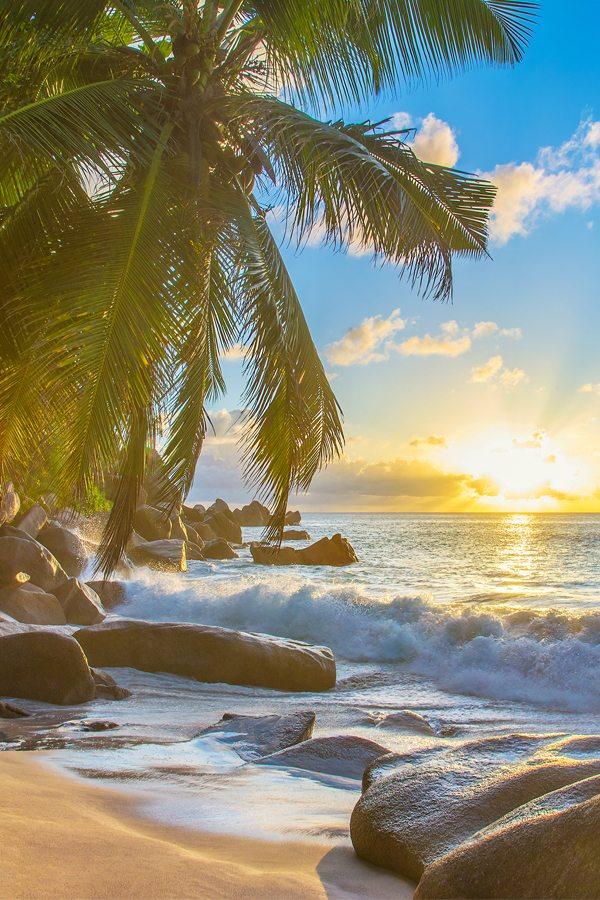Pláž Seychely