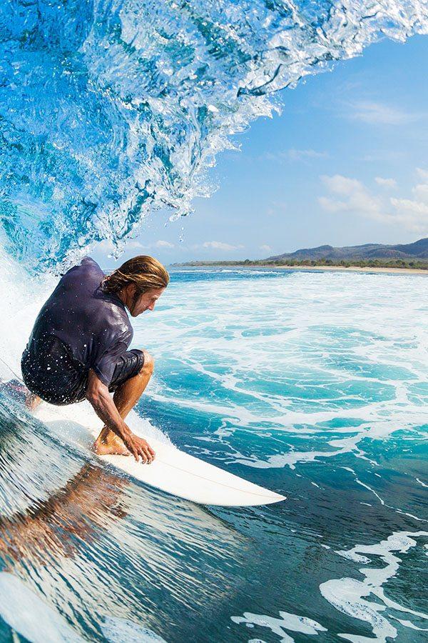 Surfař na vlně, Havaj