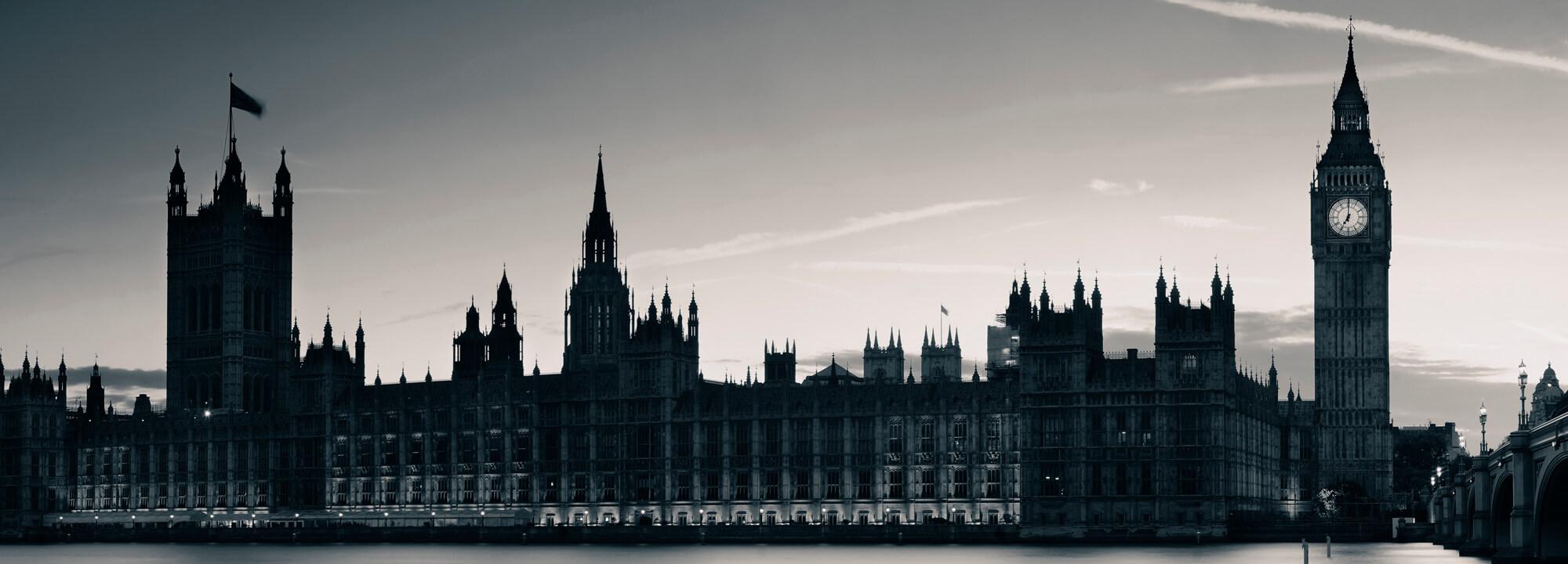 Panorama Londýna.