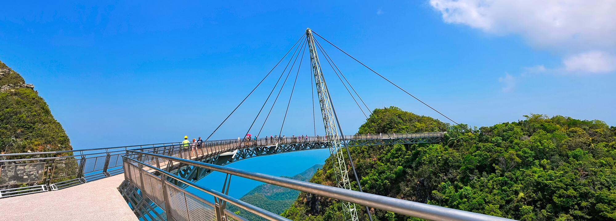 Sky Bridge na Langkawi.