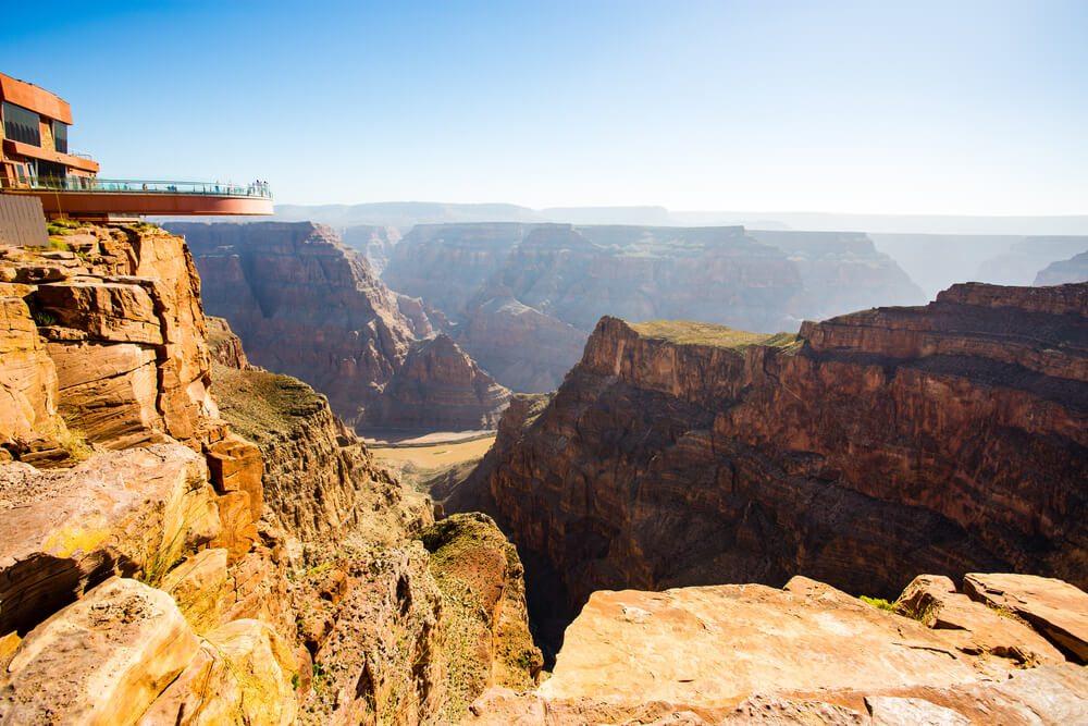 Grand canyon Skywalk.