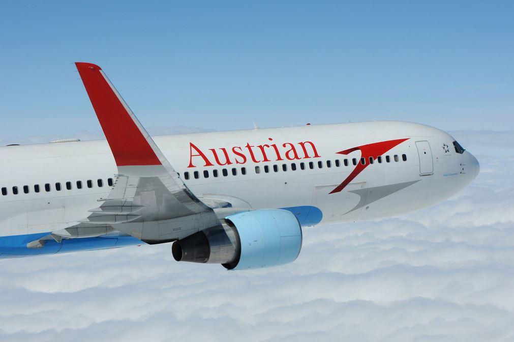 Letadlo společnosti Austrian Airlines