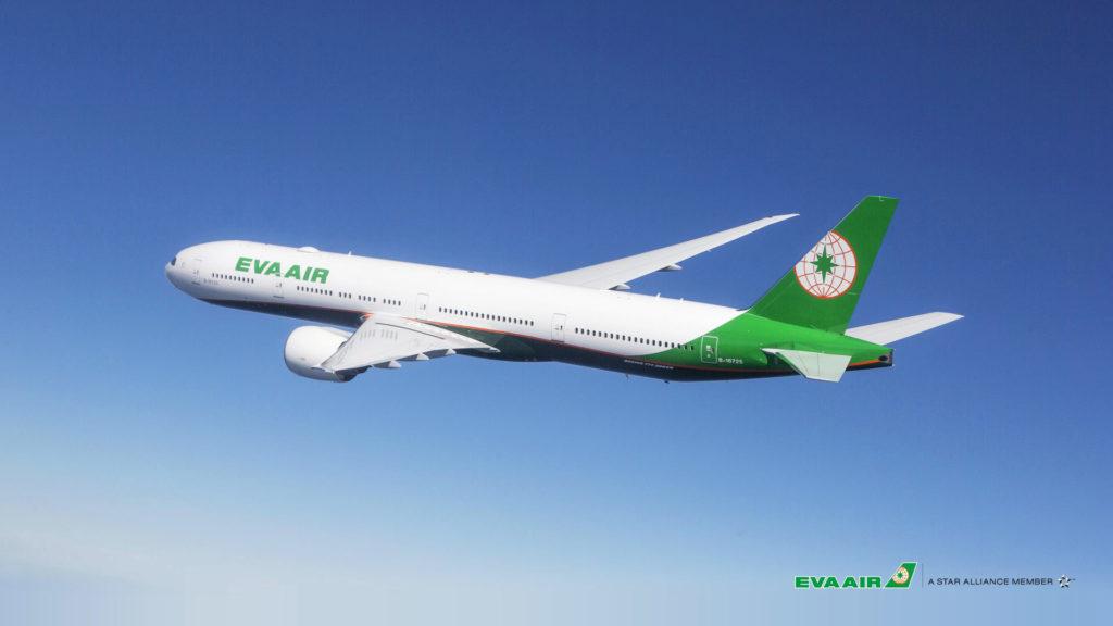 Letadlo společnosti Eva Air