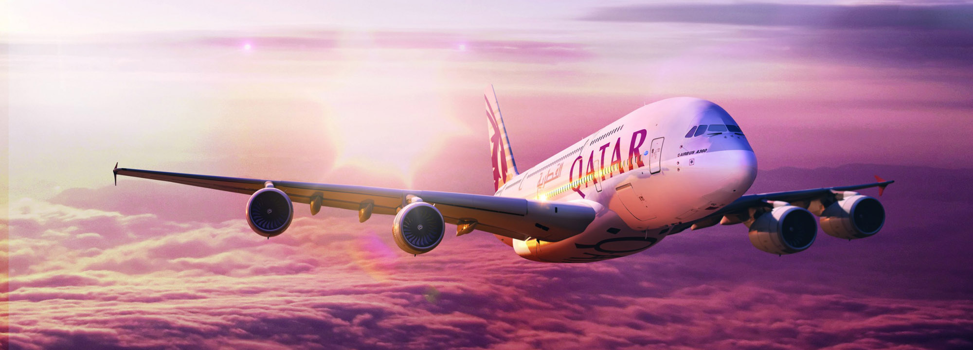 Letadlo společnosti Qatar Airways