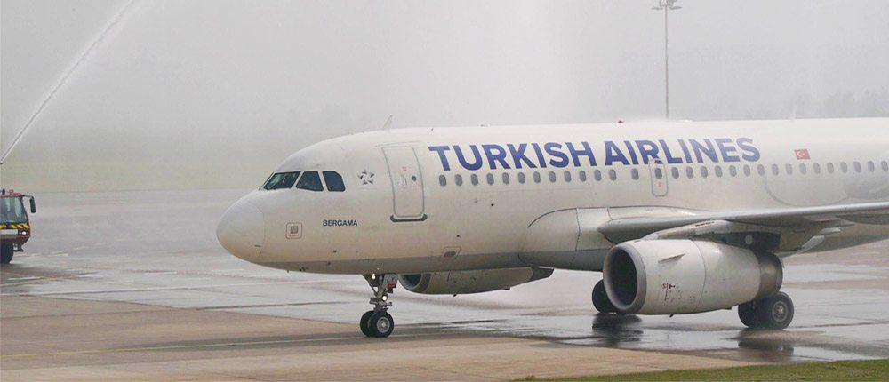 Letadlo společnosti Turkish Airlines