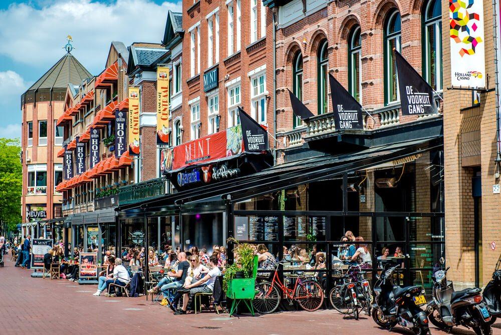 Ulice v Eindhovenu.