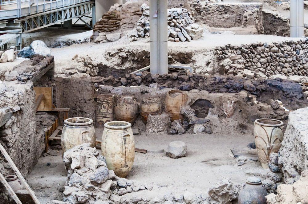 Archeologické naleziště Akrotiri