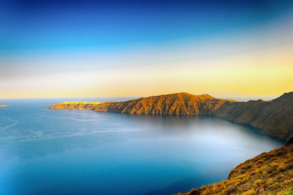 Kaldera Santorini
