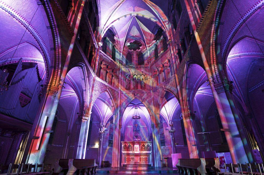 Kostel sv. Kateřiny v Eindhovenu.