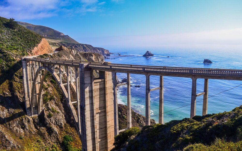 Cesta kolem západního pobřeží