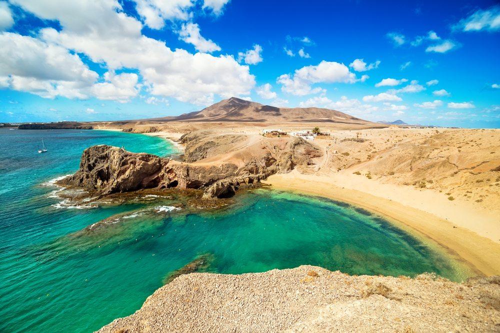 Pláž Lanzarote