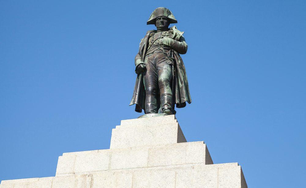 Socha Napoleona na Korsice