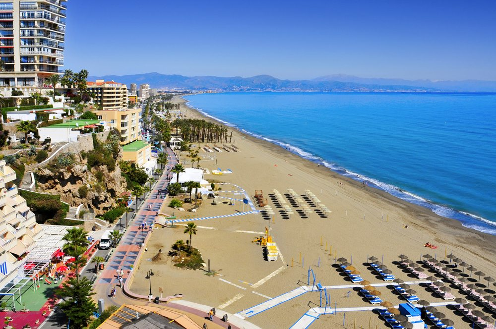 Pláž Torremolinos