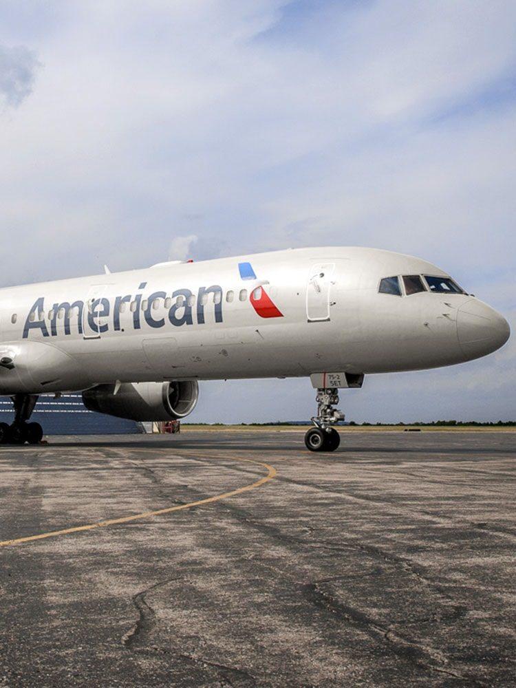 Letoun American Airlines