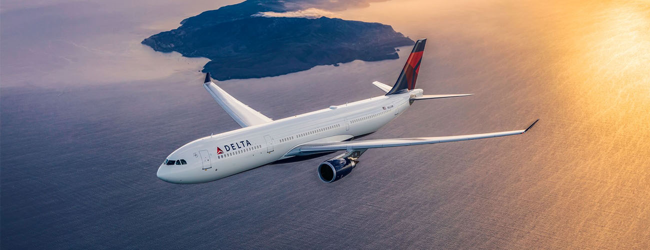 Delta Air Lines ve vzduchu