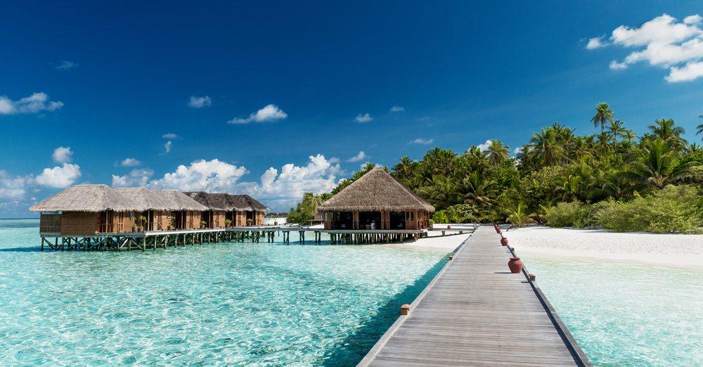 Molo na Maledivách