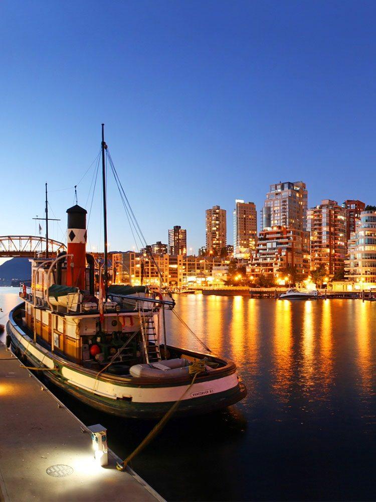 Loď ve Vancouveru