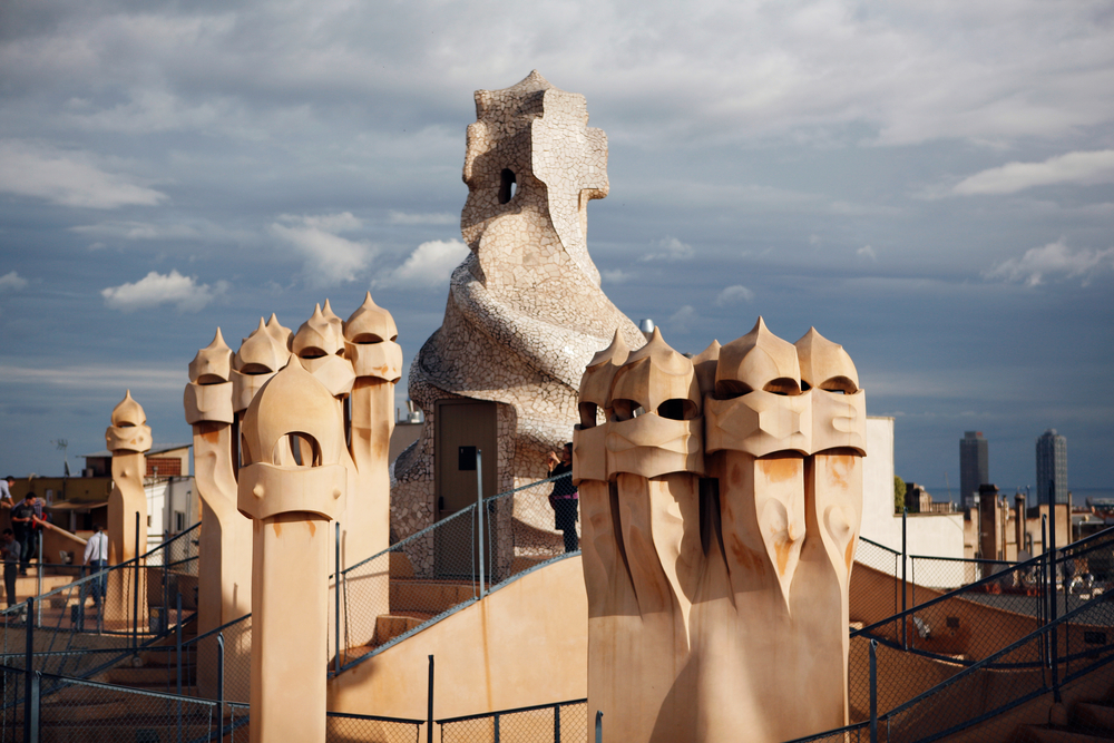 Osobitá Gaudího architektura