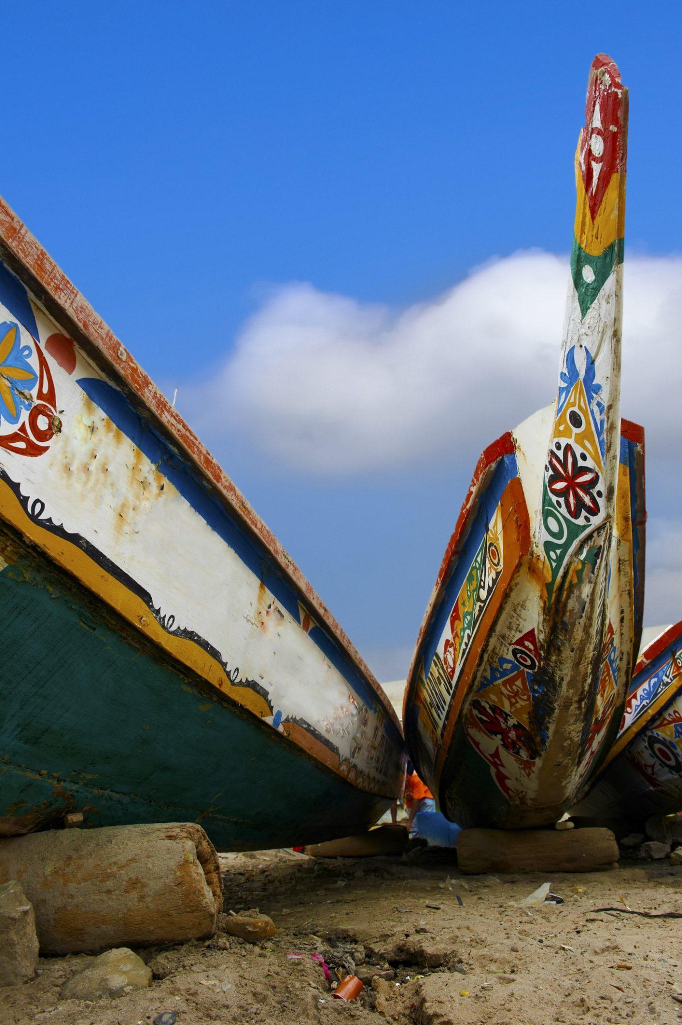 Kanoe v Dakaru