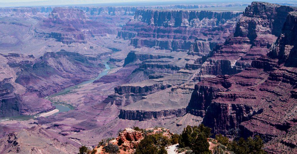 Východní římsa Grand Canyonu.