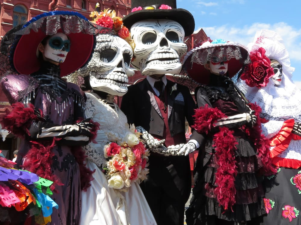 Dia de Muertos, masky