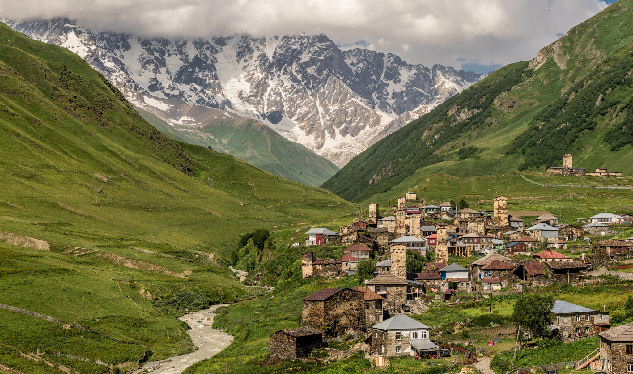 Gruzínské údolí