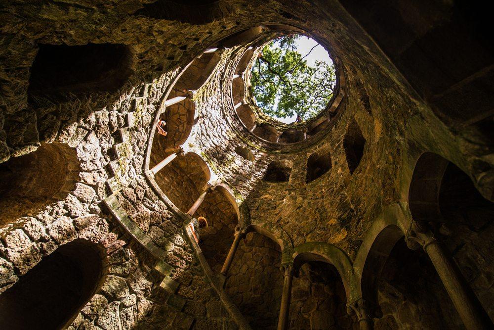 Studna v Quinta da Regaleira