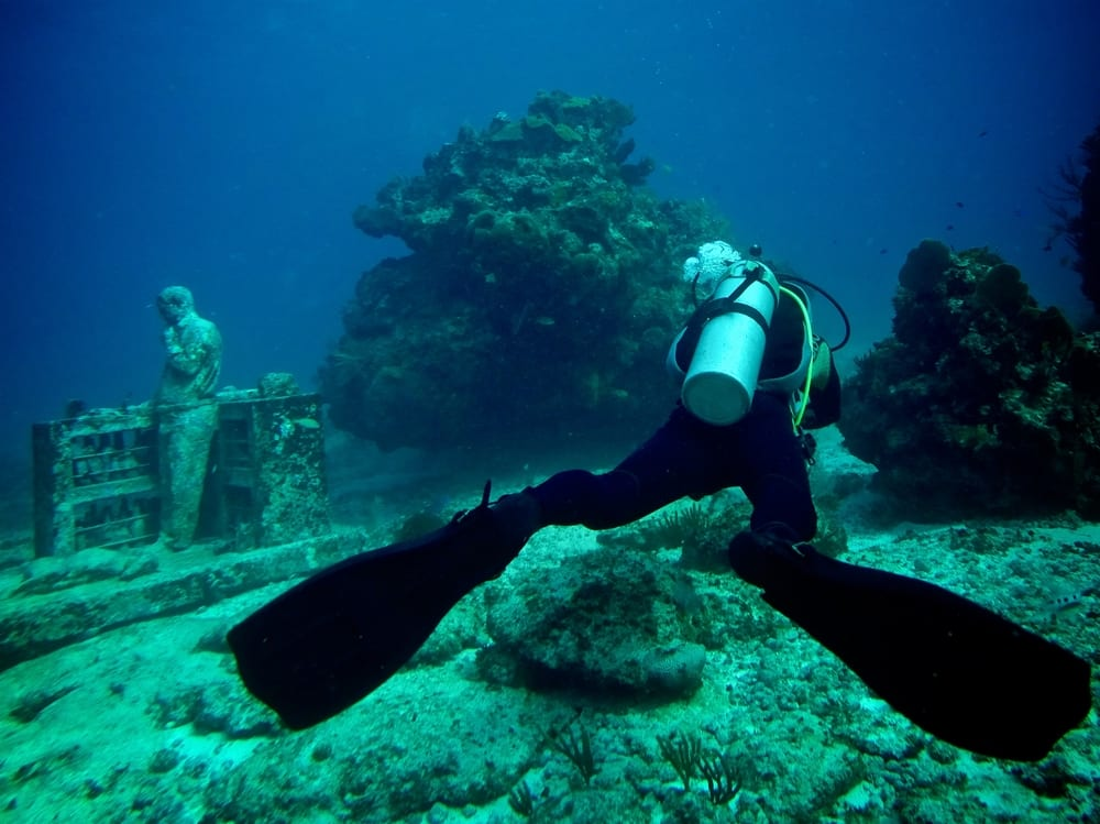 Podmořské muzeum u ostrovů Isla Mujeres a Punta Nizuc - MUSA