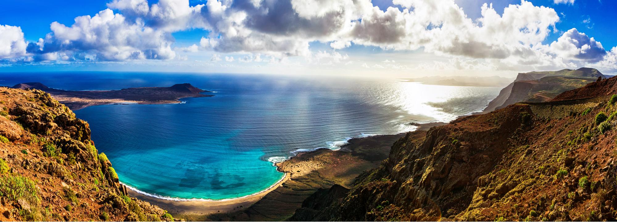 Panorama Kanárských Ostrovů