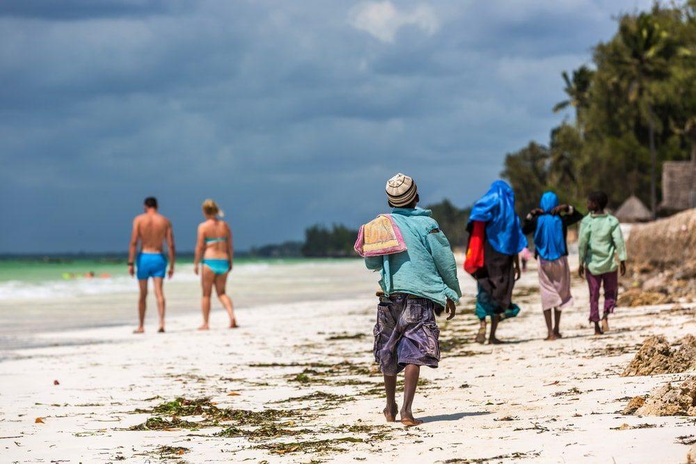 Místní na Zanzibaru