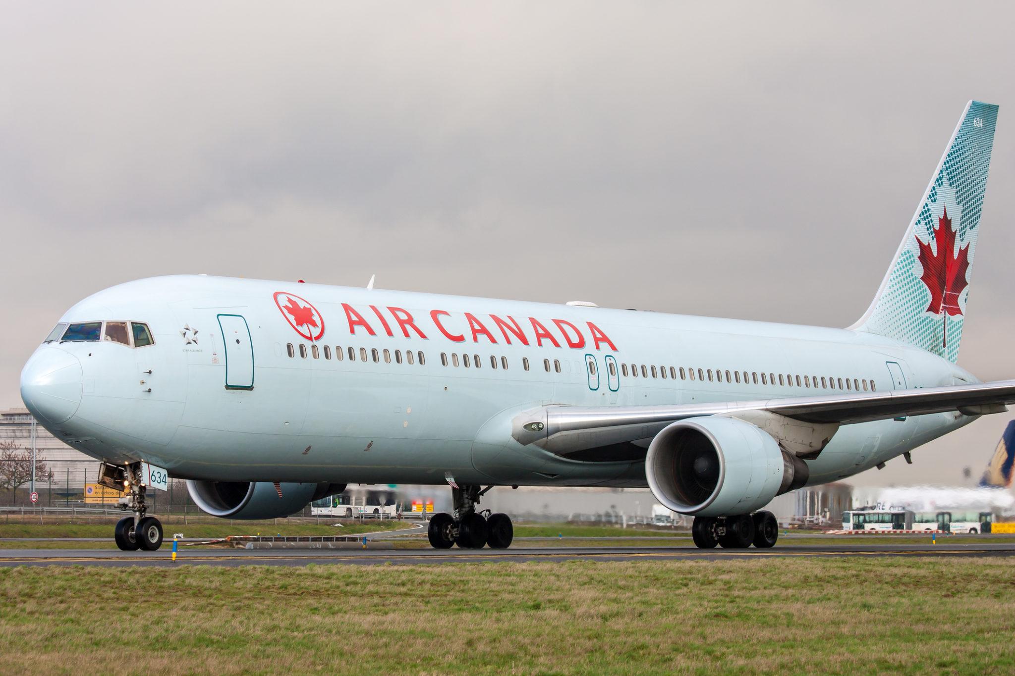 Letadlo Air Canada