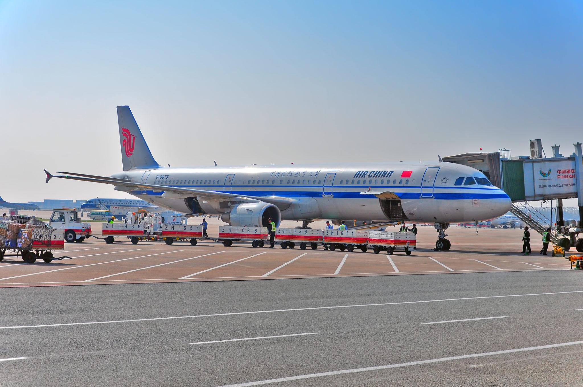 Letadlo Air China