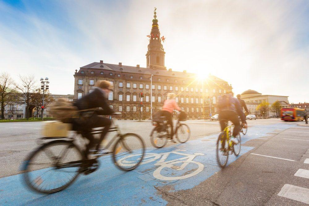 Cyklisté v Kodani.