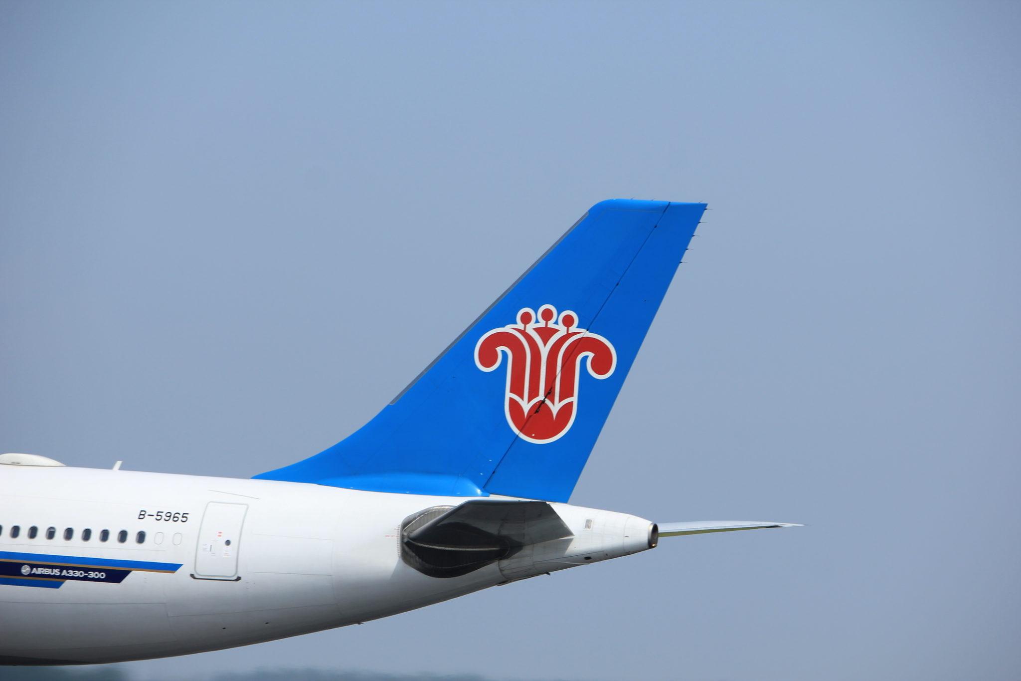 Letadlo China Southern
