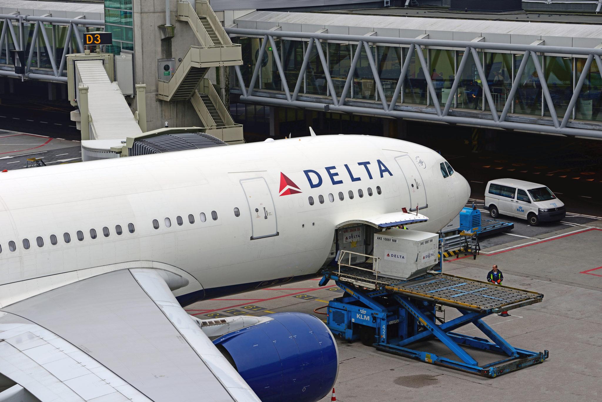 Letadlo Delta Airlines