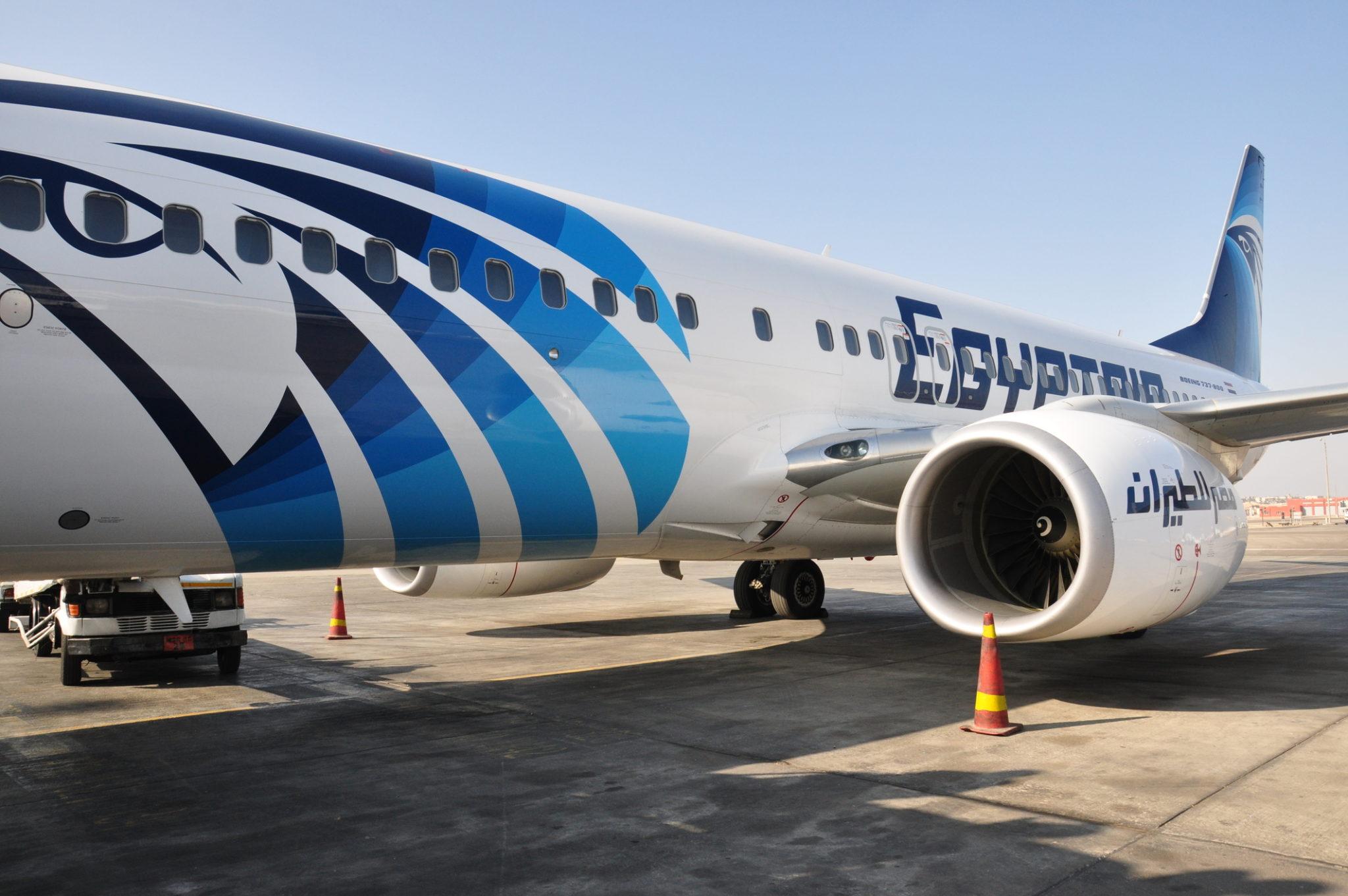 Letadlo Egypt Air