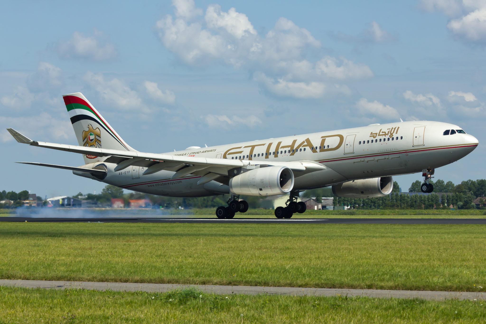 Letadlo Etihad Airways