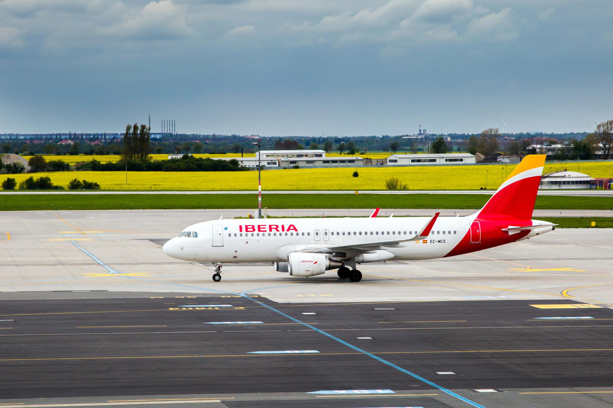 Letadlo Iberia