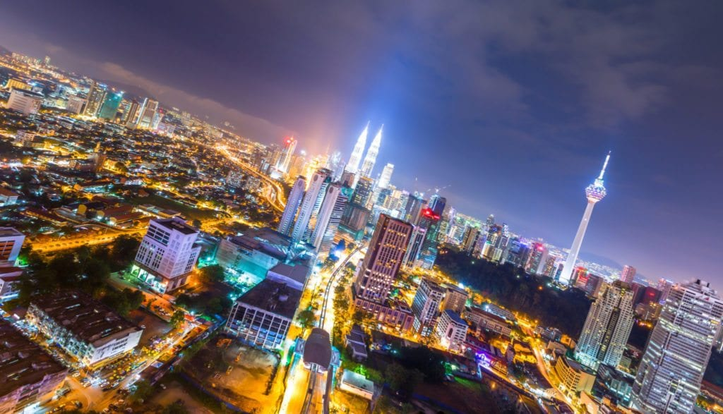 Kuala Lumpur je velká asijská metropole
