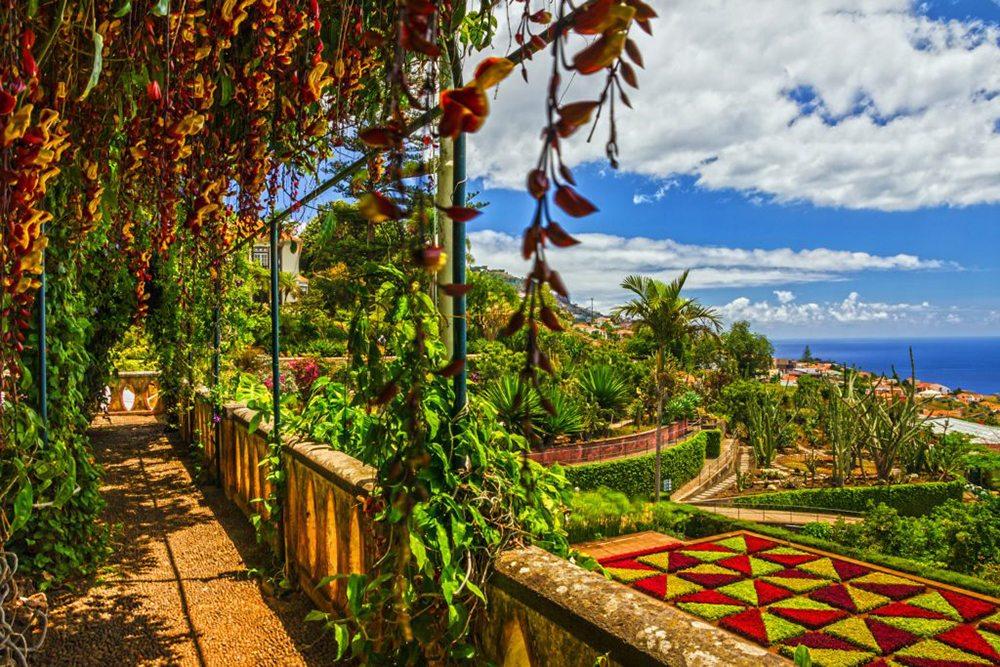 Botanická zahrada ve Funchal