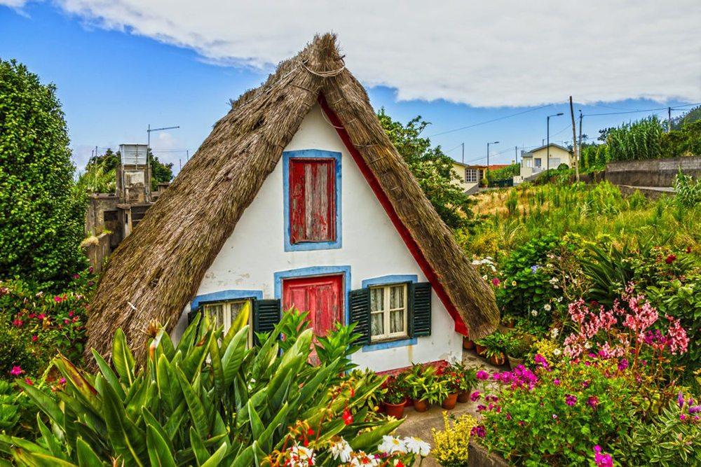 Dům ve vesničce Santana